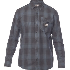 Fox Voyd Flannel Shirt Men navy